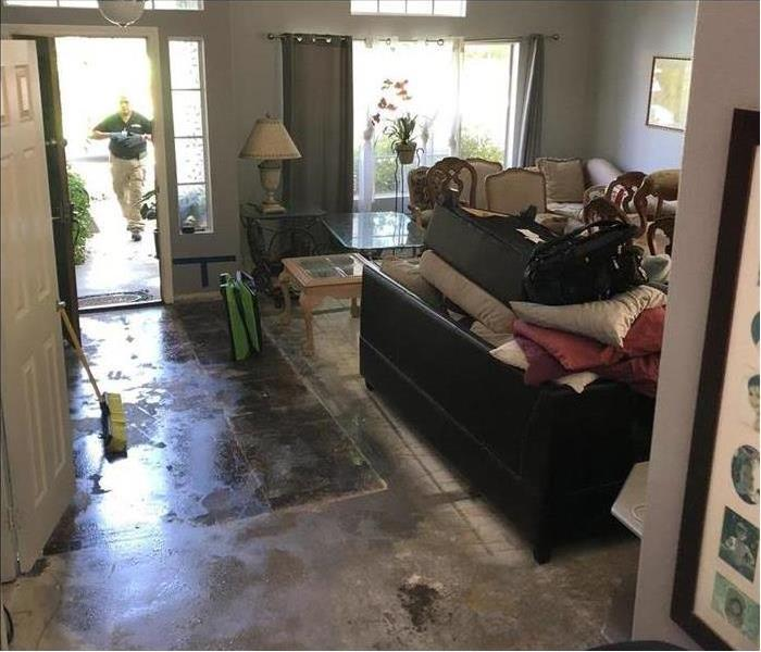 Home Entrance Water Damage