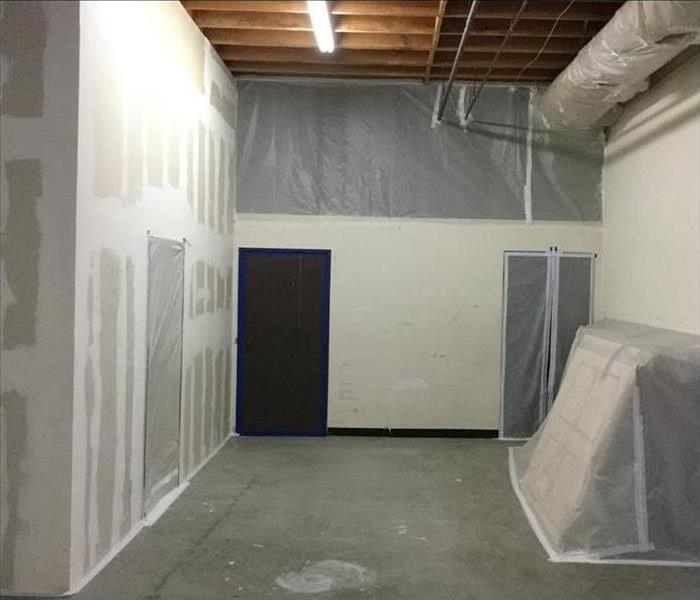 Plastic Tarp covering Storage units