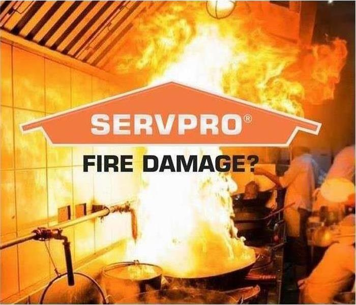 SERVPRO Fire Damage Graphic