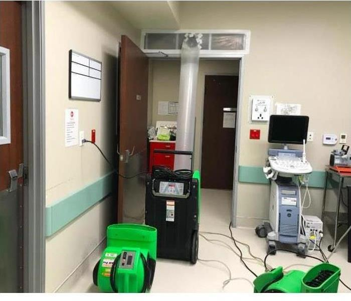 Fertility Clinic with SERVPRO equipment
